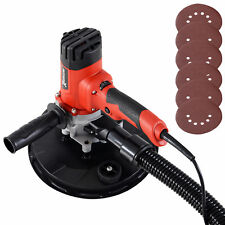 DURHAND Hand Held Drywall Sander with 6 variable speed Dust Collection System