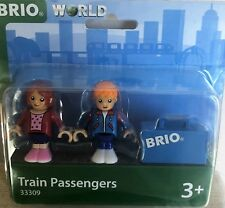New BRIO WORLD  #33309 ~ Wooden Train Passengers Set ~ Free Shipping