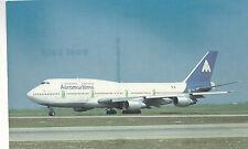 Aeromaritime International   Boeing B-747-3B3    Unused Chrome PC 994 Plane