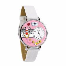 Whimsical Watches Unisex US0620047 Nurse Analog Display Japanese Quartz White Wa