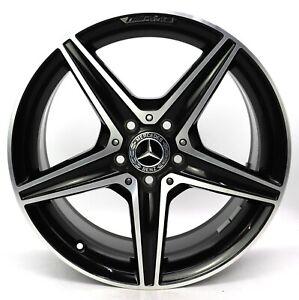 1x 18 Pollici Originale Mercedes W205 AMG Cerchi Alluminio Posteriore