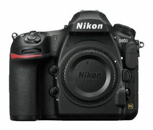 NEW Nikon D850 45.7 MP Digital SLR Camera - Black (Body Only)