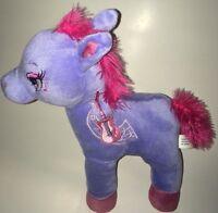 "Midwood Brands Purple And Pink Guitar Pony  13"" Plush Stuffed Animal"