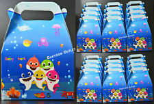 12 BABY SHARK PARTY FAVORS GOODY TREAT BAGS BIRTHDAY SUPPLIES RECUERDOS GIFT