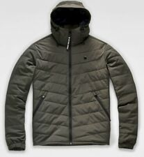 G Star Attacc Quilted Hooded Jacket Size L