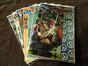 1994 VALIANT Comics GEOMANCER #1-8 - Complete Series Set ETERNAL WARRIOR - VF/NM