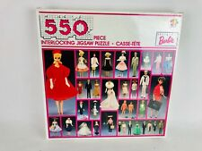 Nostalgia Barbie 550 Piece Interlocking Jigsaw Puzzle 1989