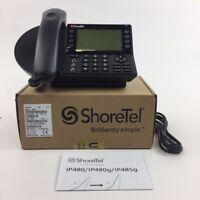 ShoreTel IP480 Backlit Display Phone (10576)  -New Bulk