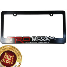 TRD-License-Plate-Frame-Toyota-Offroad-Takoma-FJ-Cruiser-4x4-Yaris-World-Rally