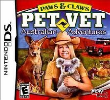 Paws & Claws: Pet Vet Australian Adventures DS DSi Game Only US English