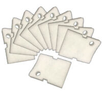 Replacement Hydor 150  White Fine Filter Pads - 10 Pack