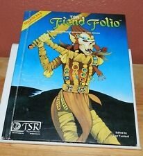 Dungeons And Dragons D&D Fiend Folio Gary Gygax Hardcover 1981