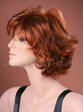 Forever Young Ladies Wispy Style Short Auburn Fashion Style Full Wig