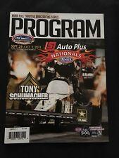 2011 NHRA 60TH Auto Plus Nationals Maple Grove Program Tony Schumacher