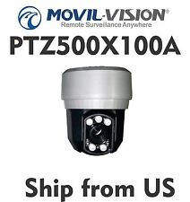 PTZ Mini Outdoor Speed Dome Camera 330ft IR Distance 100X Zoom PTZ500X100A