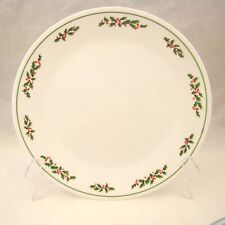 Corning Corelle HOLLY DAYS Dinner Plate(s) Excellent