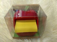3M Post-it Pop-up Notes Dispenser for 3 x 3-Inch Notes Apple Shaped Dispenser