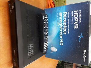 Shaw Direct DSR630 HD PVR 630 Receiver Satellite Star Choice HDMI Used 320gb