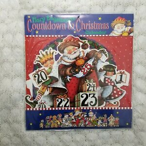 Vintage Mary Engelbreit's Countdown to Christmas Calendar 1995 3D new in package