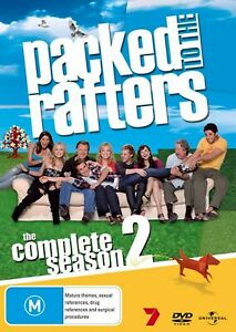 Packed To The Rafters Complete Season Series 2 TV Show DVD NEW Rebecca Gibney