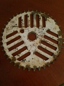 1987 GT Cheese Grater Chainring / Sprocket