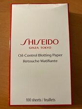 Shiseido Ginza Tokyo Oil-control Blotting Paper Retouch Matifiante 100 Sheets