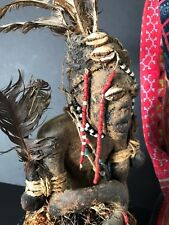 Old African Kuossi Congo Fetish Witch Doctor Carving …a unique collection piece.