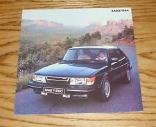 Original 1984 Saab Full Line Foldout Sales Brochure 84 900 900S Turbo