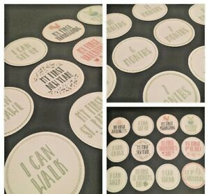 Baby Milestone Stickers 1st Year 24 Count Baby Shower Gift