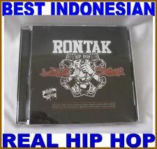 CD Indonesian real hip hop best asian rapper rontak berontak kembali 2014 bombap