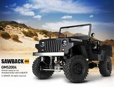 Gmade Sawback ARTR 1/10 Rock Crawler (Black) 52004 ARTR