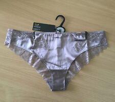 Silk Blend Bikinis Low Rise Thongs for Women