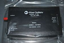 Fiber Options 220D1-R/1B44 Fiber Optic Rs422 Data Transmitter New