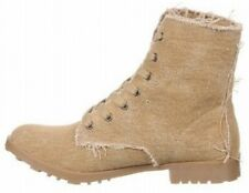 Hot Kiss Storm boots military style canvas 6.5 Med NEW