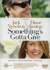 "Something's Gotta Give (DVD) Region 4 ""NEW AND SEALED"""