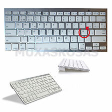 TECLADO INALAMBRICO BLUETOOTH EXTRAPLANO PC MAC IPAD IPHONE ANDROID MINI SAMSUNG