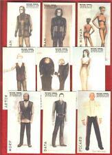 1998 STAR TREK INSURRECTION COSTUME 9 card CHASE Set