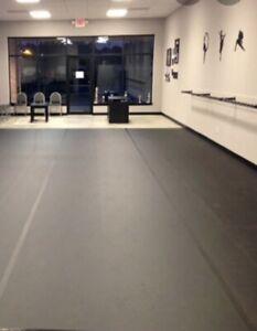 Marley Dance Floor & MULTI-USE Black 250 Sq Feet