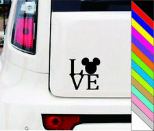 MICKEY MOUSE Vinyl Decal Sticker for Car Truck SUV Boat Trailer Mirror Wall