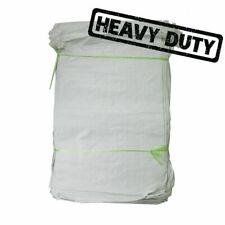 More details for woven large extra heavy duty rubble sand bag sacks polypropylene builder pb