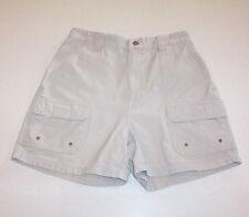 Women's St. John's Bay Denim Tan Cotton Shorts 6
