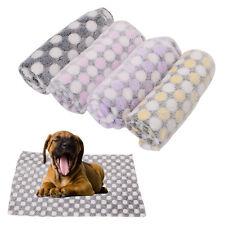Pet Blanket Dog Puppy Kitten Cat Bed Pad Cute Animal Gift Warm Soft Flannel Mat
