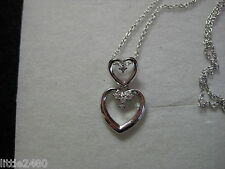 NECKLACE WITH CUBIC ZIRCONIA IN 925 STERLING SILVER