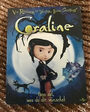 Coraline Limited Edition Dvds Blu Ray Discs For Sale In Stock Ebay