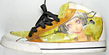 Gravis Mens Hi-Cut Lowdown FG White Sneakers Fashion Anime Shoes Hip-Hop US 9