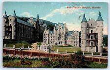 Postcard Canada Montreal Royal Victoria Hospital Vintage View D6