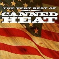 """CANNED HEAT """"THE VERY BEST OF"""" CD NEUWARE"""