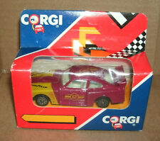 1/64 Scale Ford Capri 3.0 S Diecast Race Car Model - Vintage 1990 Corgi New NOS