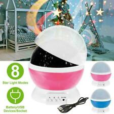 TOYS FOR 2-10 Year Old Kids LED Night Sleep Light Star Moon Constellation US Hot