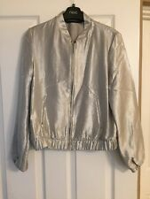 Zara Ladies Silver Jacket Size S